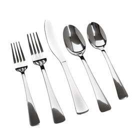 Corelle Naomi Mirror Flatware - 18/0 - 20 piece set