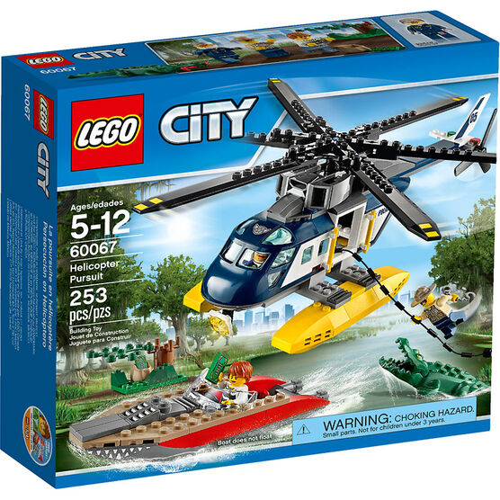 Lego City - Helicopter Pursuit - 60067