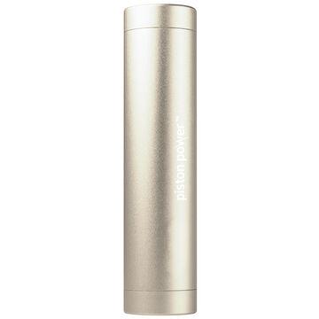 Logiix Piston Power 3400 mAh Portable Battery - Gold - LGX12206