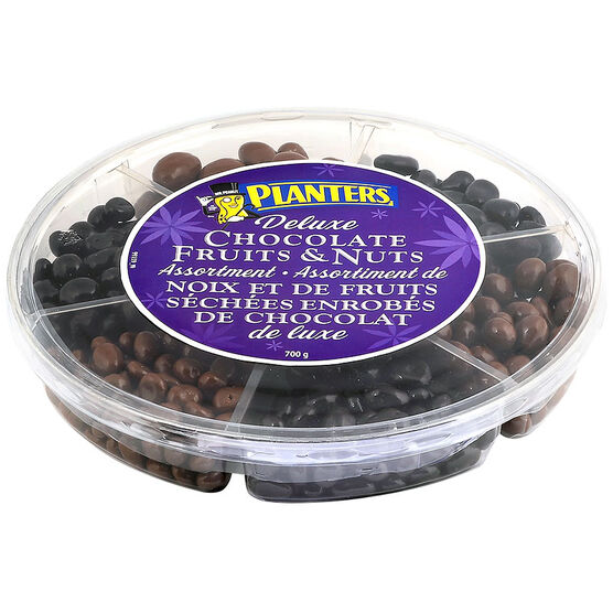 Planters Deluxe Chocolate Fruit & Nuts Assortment - 700g