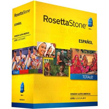 Rosetta Stone Spanish (Latin America) - Version 4 Levels 1-5