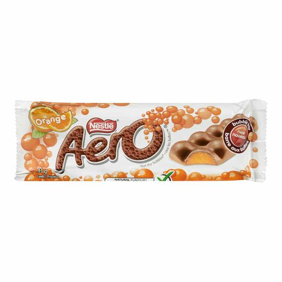 Nestle Aero Bubble Bar - Orange - 41g