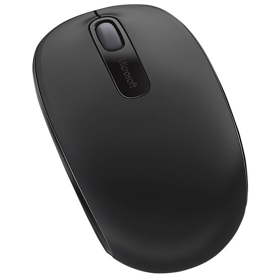 Microsoft Wireless Mobile Mouse 1850 - Black - U7Z-00002