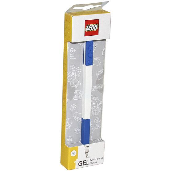 Lego 2.0 Gel Pen - Blue