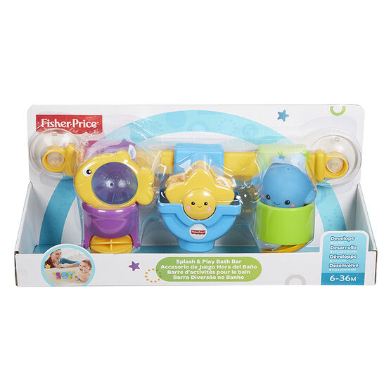 Fisher-Price Splash and Play Bath Bar - CFM99