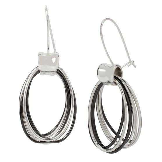 Robert Lee Morris Hoop Earrings - Multi