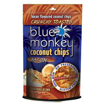 Blue Monkey Coconut Chips - Bacon - 40g