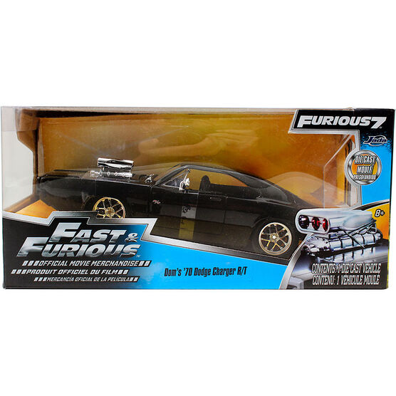Fast & Furious 7 Die Cast Car - Assorted