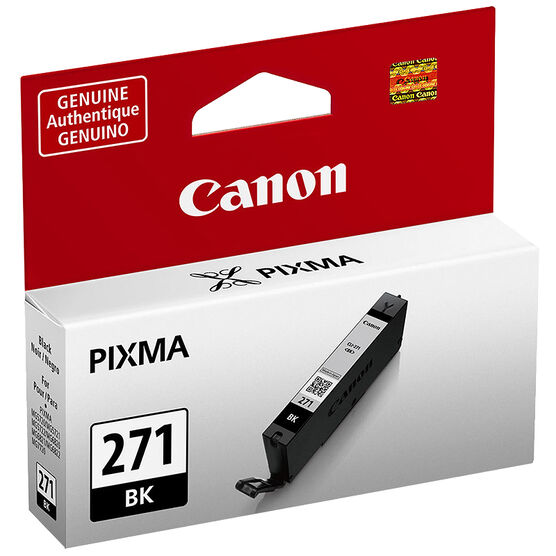 Canon Pixma CLI-271 Ink Cartridge - Black - 0390C001