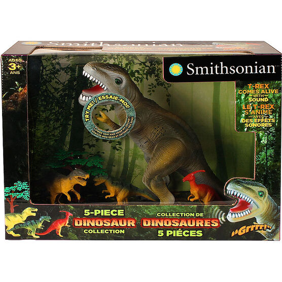 Smithsonian Dinosaur Collection - 5 piece
