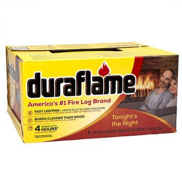 Duraflame Extratime Firelogs - 6 pack - 2.72kg