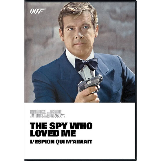 The Spy Who Loved Me (1977) - DVD
