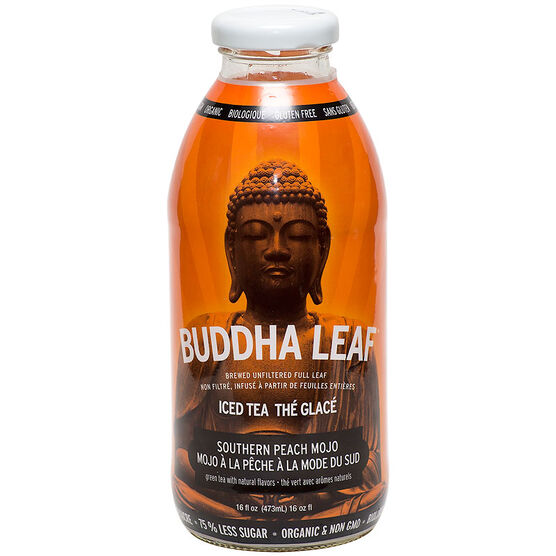 Buddha Leaf Iced Tea - Southern Peach Mojo - 473ml