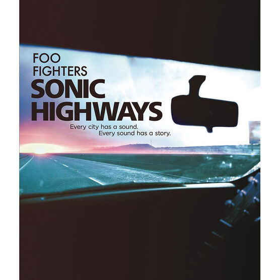 Foo Fighters - Sonic Highways - Blu-ray