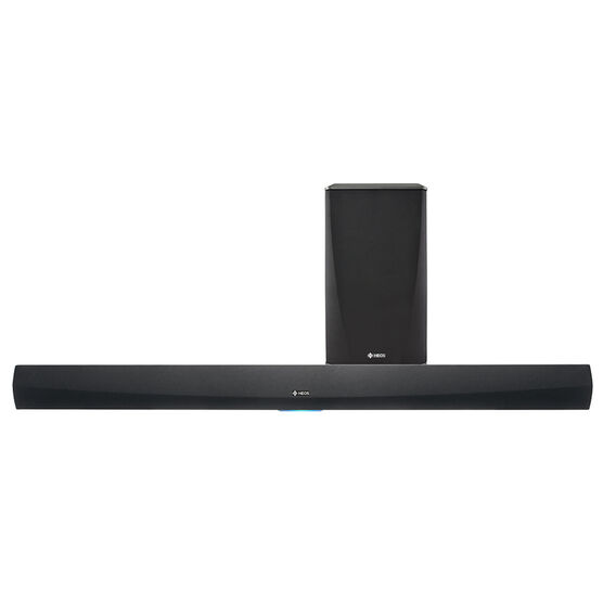 Heos Soundbar with Wireless Subwoofer - Black - HEOS HOME CINEMA