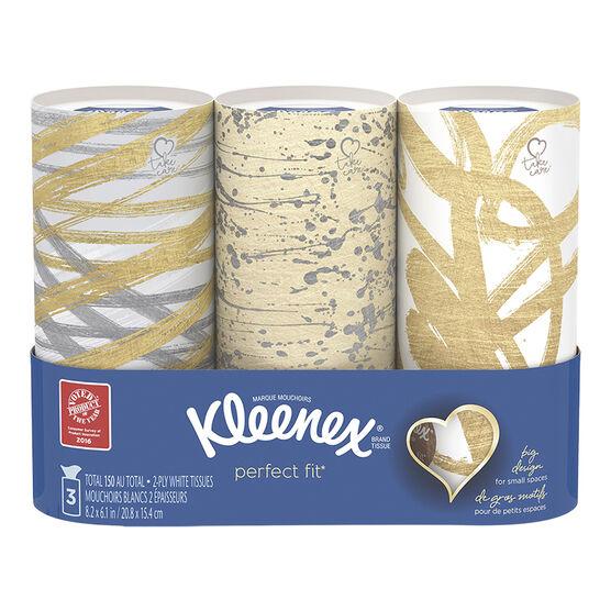 Kleenex Perfect Fit Tissues - 3 x 50's