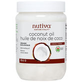 Nutiva Organic Coconut Oil - Virgin - 860ml
