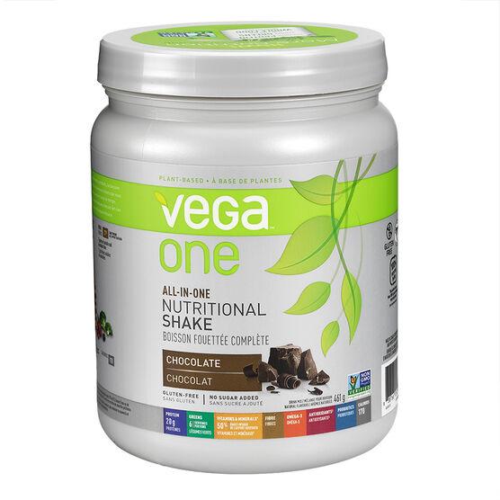 Vega One Nutritional Shake - Chocolate - 461g