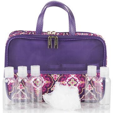 Modella Purple Moroccan Fitted Weekender