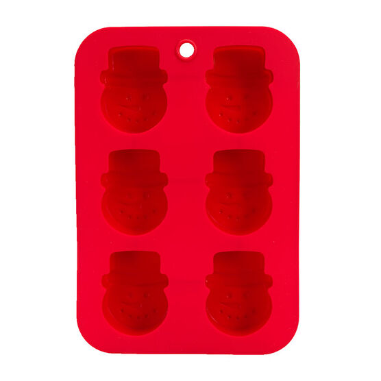 LD Silicone Bakeware - Snowman Mould
