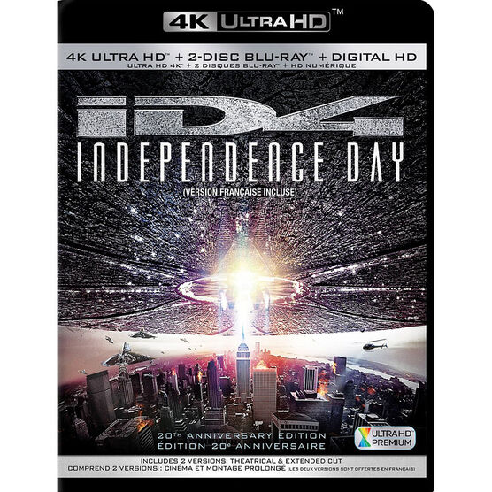 Independence Day (20th Anniversary Edition) - 4K UHD Blu-ray