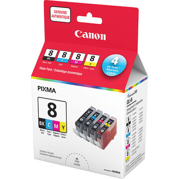 Canon CLI-8 Ink Value Pack
