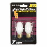 Philips Night Light Bulbs - 2 pack