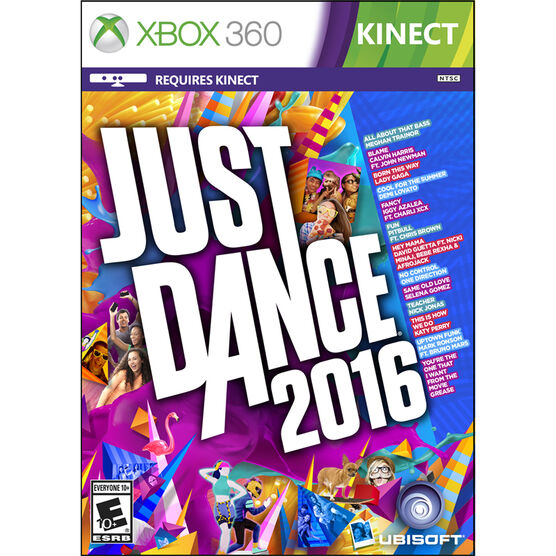 Xbox 360: Just Dance 2016