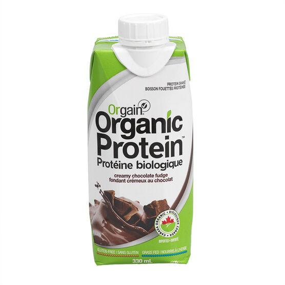 Orgain Organic Protein Shake - Creamy Chocolate Fudge - 330ml