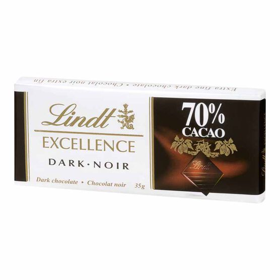 Lindt Excellence Bar - 70% Cocoa - 35g