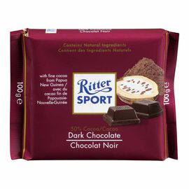 Ritter Sport - Dark Chocolate - 100g