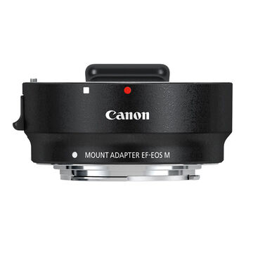 Canon EF-EOS M Mount Adapter - 6098B002 - Black