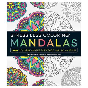 Stress Less Colouring: Mandala