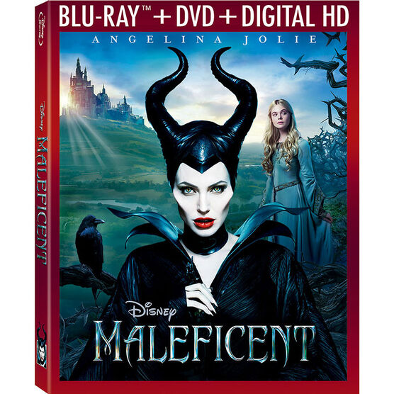 Maleficent - Blu-ray + DVD + Digital HD