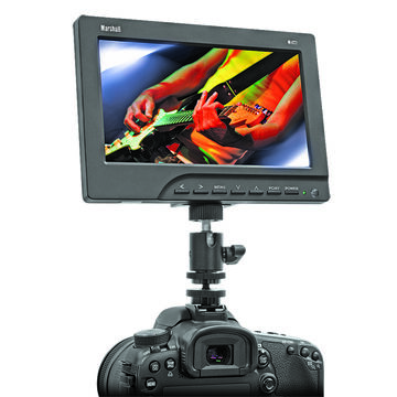 Marshall 7inch Monitor with Canon LPE6 Battery - MCT7CE6C