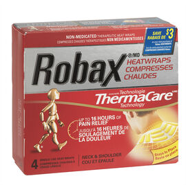 Robax Neck & Shoulder Heatwraps - 4's