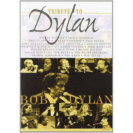 A Tribute To Bob Dylan - DVD
