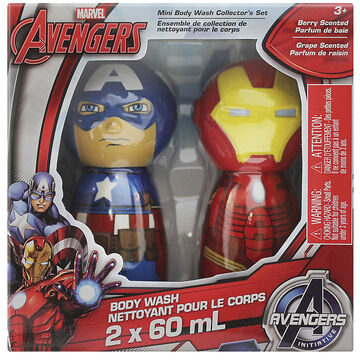 Marvel Avengers Mini Body Wash Collector's Set - Berry - 2 x 60ml