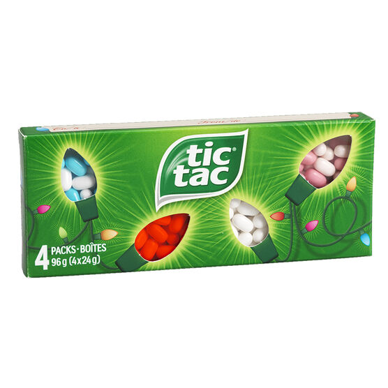 Tic Tac Stocking Stuffers - 4pack - 4 x 24g