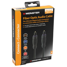 Monster Fiber Optic Audio Cable - 1.5m - MEFO1.5MWW