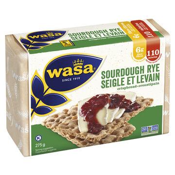 Wasa Sourdough Rye Crispbread - 275g