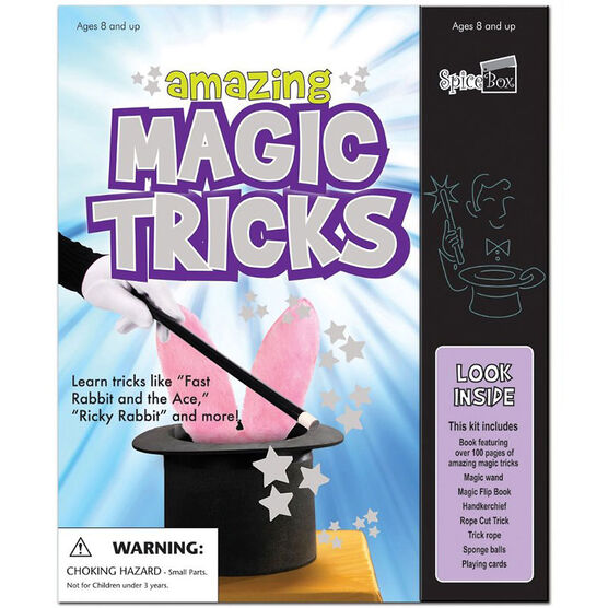 Spicebox Kits for Kids Amazing Magic Tricks