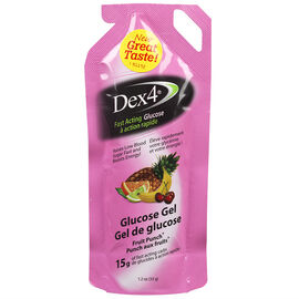 Dex4 Fruit Punch Glucose Gel - 15g