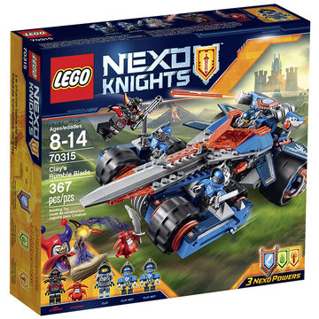 Lego Nexo Knights - Clay's Rumble Blade