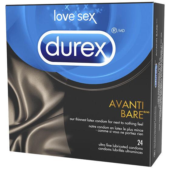 Durex Avanti Bare Condom - 24's