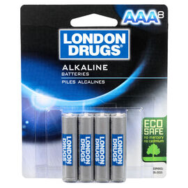 London Drugs AAA Alkaline Batteries - 8 pack