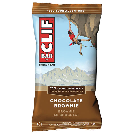 Clif Bar Energy Bar - Chocolate Brownie - 68g