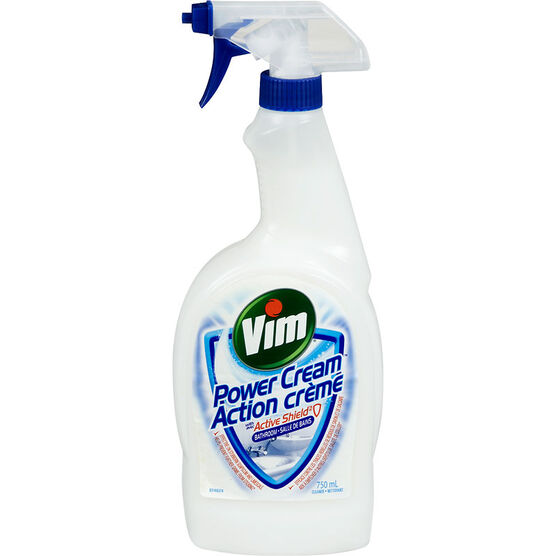 Vim Power Cream Active Shield Bathroom Spray - 750ml