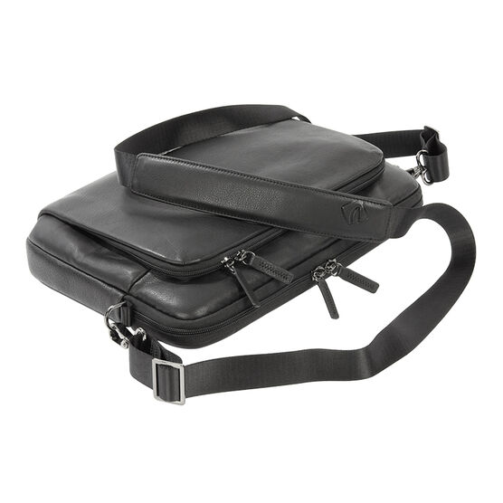 Tucano One Premium Sleeve for 13/14inch Notebook - Black Leather - BF0P13