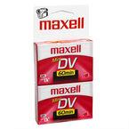 Maxell Mini DV Cassette - 60 Minutes - 2 Pack